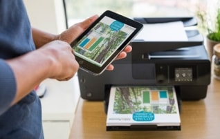 Printing from a Tablet or Mobile is easy with TSplus Universal Printer