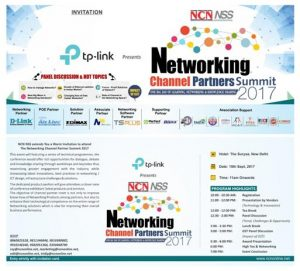 Announcing TSplus India Participation in NCN/NSS Networking Channel Partners Summit 2017