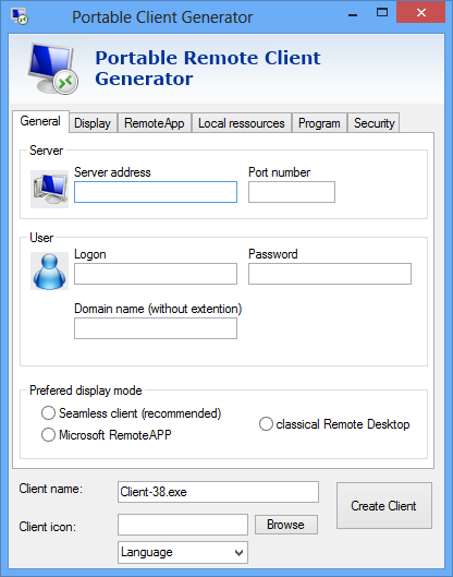The new Portable Client Generator